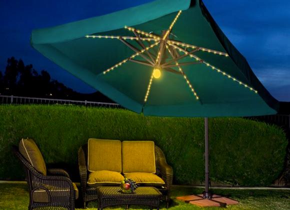 10' x 10' Umbrella w/ Lights