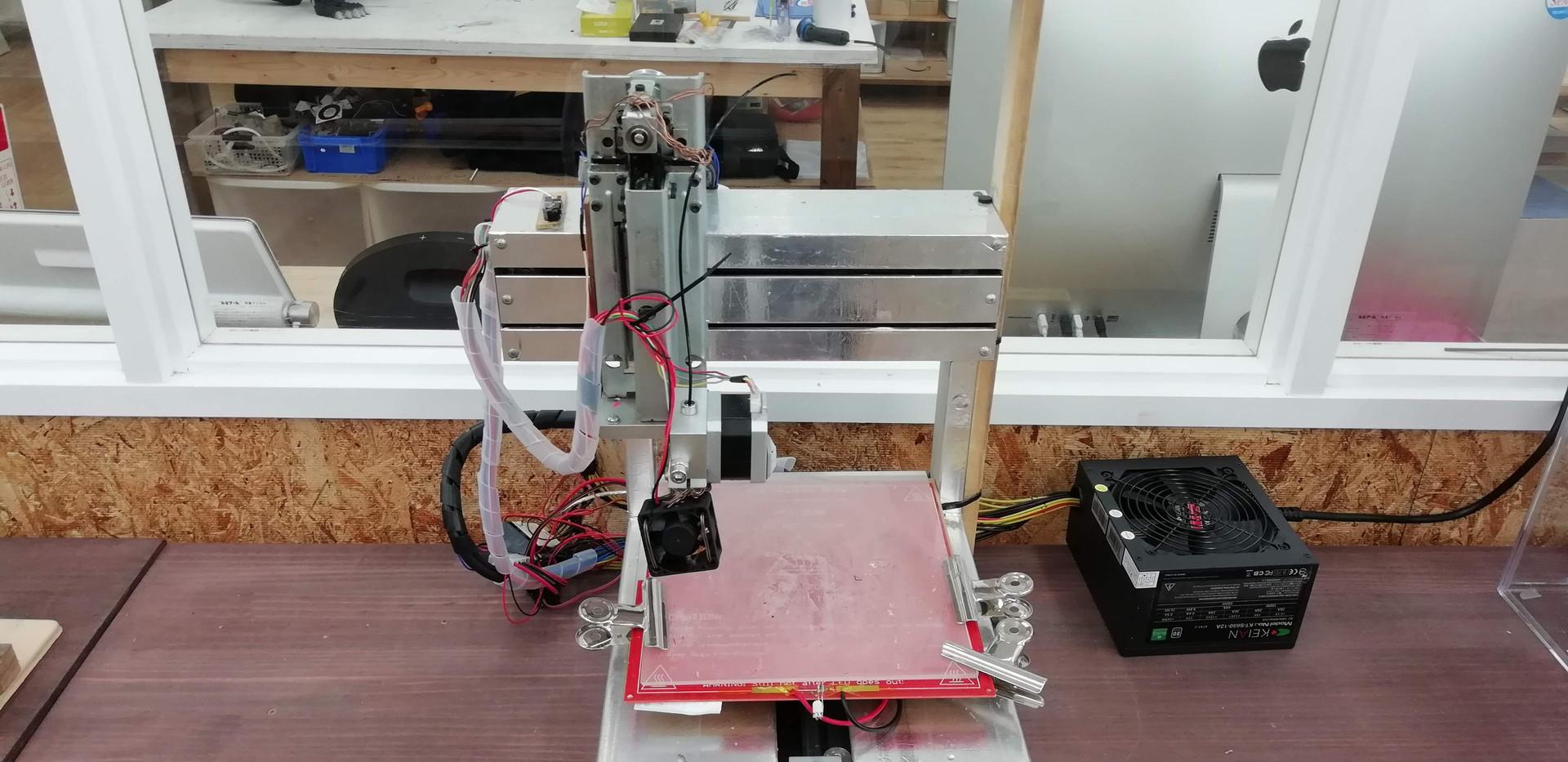 自作3Dプリンタ