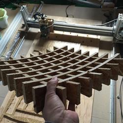 MakerMachineで作った椅子