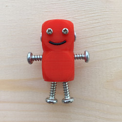 3Dプリントしたロボット