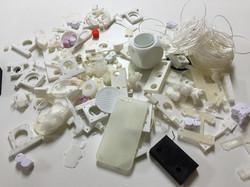 3Dプリント失敗部品