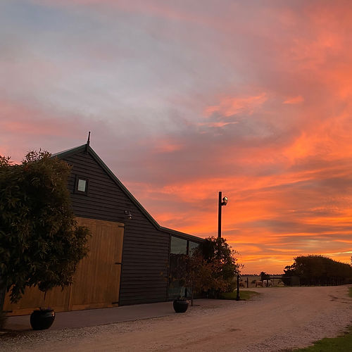 Barn Events at Sunset