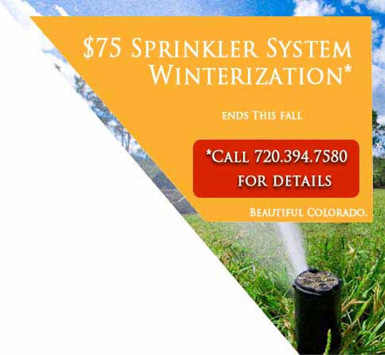 Sprinkler System Advertisement