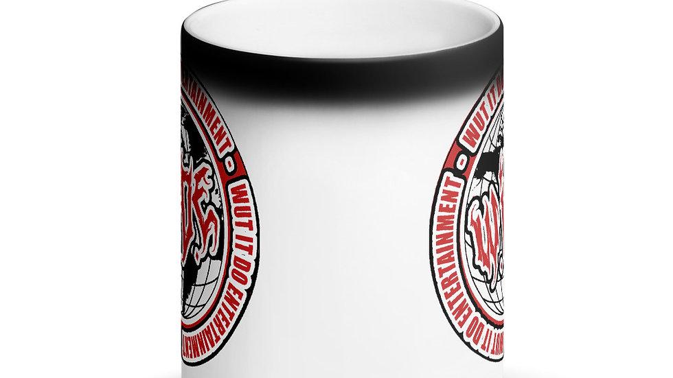 WIDE Matte Black Magic Mug