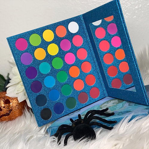 Halloween eyeshadow pallet