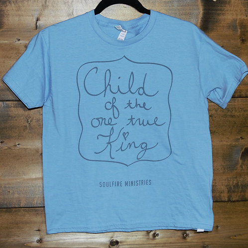 """YOUTH Baby Blue """"Child of The One True King"""""""