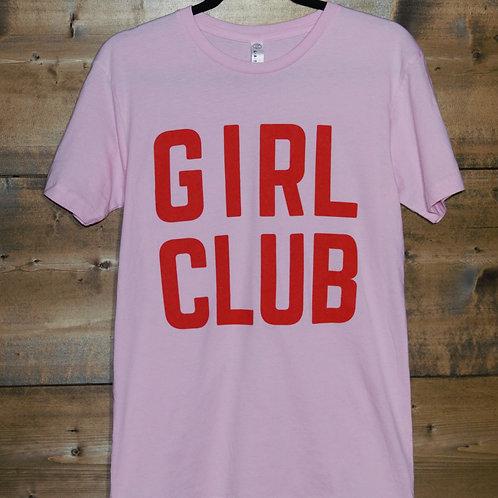 """Pink Soulgirls """"Girl Club"""" t-shirt"""