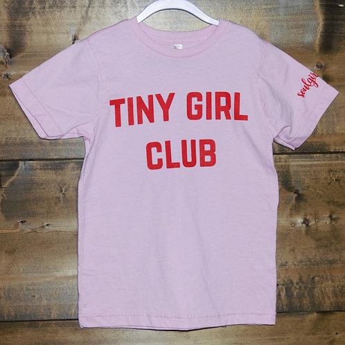 """YOUTH Soulgirls """"Tiny Girl Club"""" t-shirt"""