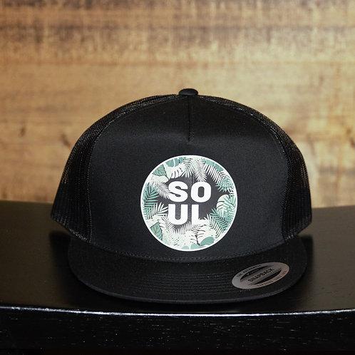 "Snapback Flat Bill ""SOUL"" Hat"