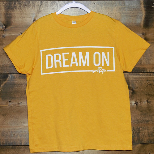 "YOUTH Yellow ""Dream On"" t-shirt"