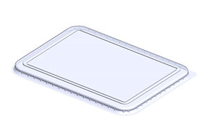 meat tray lid
