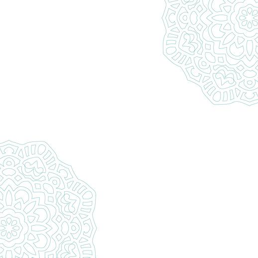 white mandala background