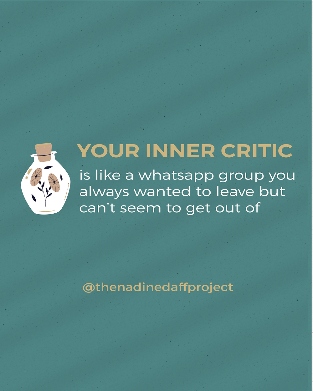 Inner critic graphic