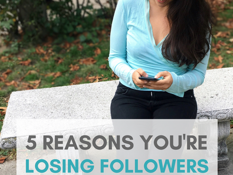 5 Reasons You're Losing Instagram Followers (& How to INSTANTLY Fix It)