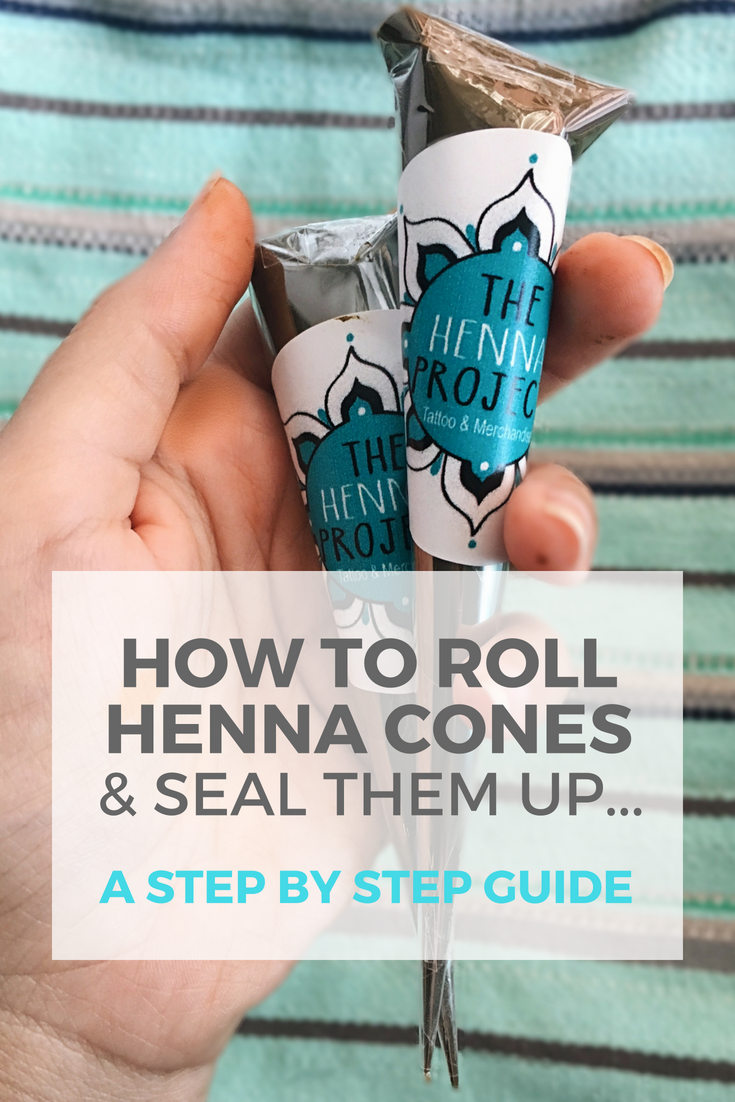 How to Roll Henna Cones