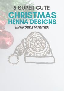 Christmas Henna Designs