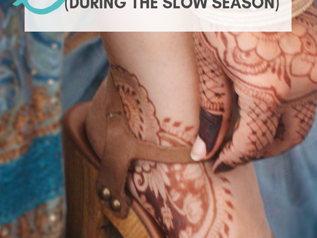 8 Effective Ways to Attract Henna Clients (During the Slow Season)