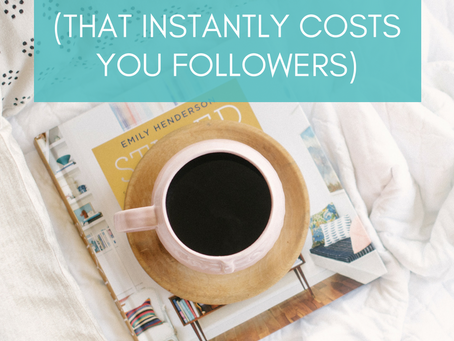 The 9 Biggest Instagram SINS (that Instantly Costs you Followers)