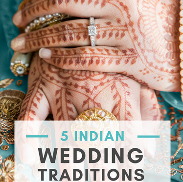 5 Indian Wedding Traditions (EXPLAINED!)