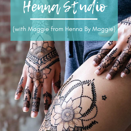 How to Run a Henna Studio (with Henna by Maggie)