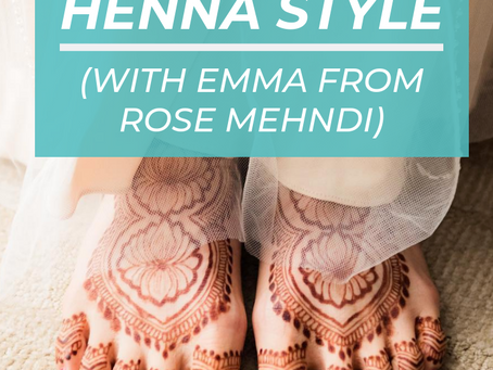 How to Develop Your Unique Henna Style (with Emma from Rose Mehndi)