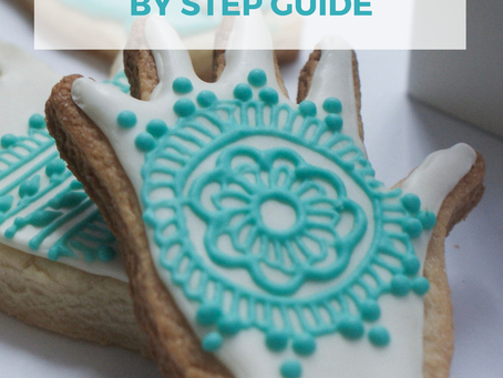 Henna Cookies Tutorial from Scratch (FOOLPROOF GUIDE!)