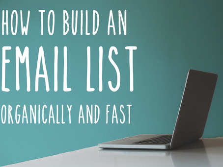 11 Impactful Hacks to Grow your Email List Organically (FAST!)
