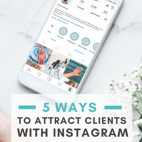 5 Ways to Attract Clients with Instagram (& Instantly Make Money!)