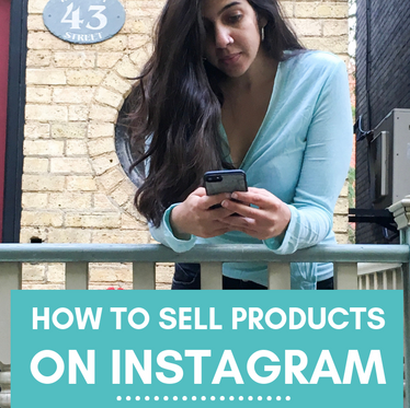 How to Sell Products on Instagram (& Quickly Sell Out!) - with Hafsa Creates