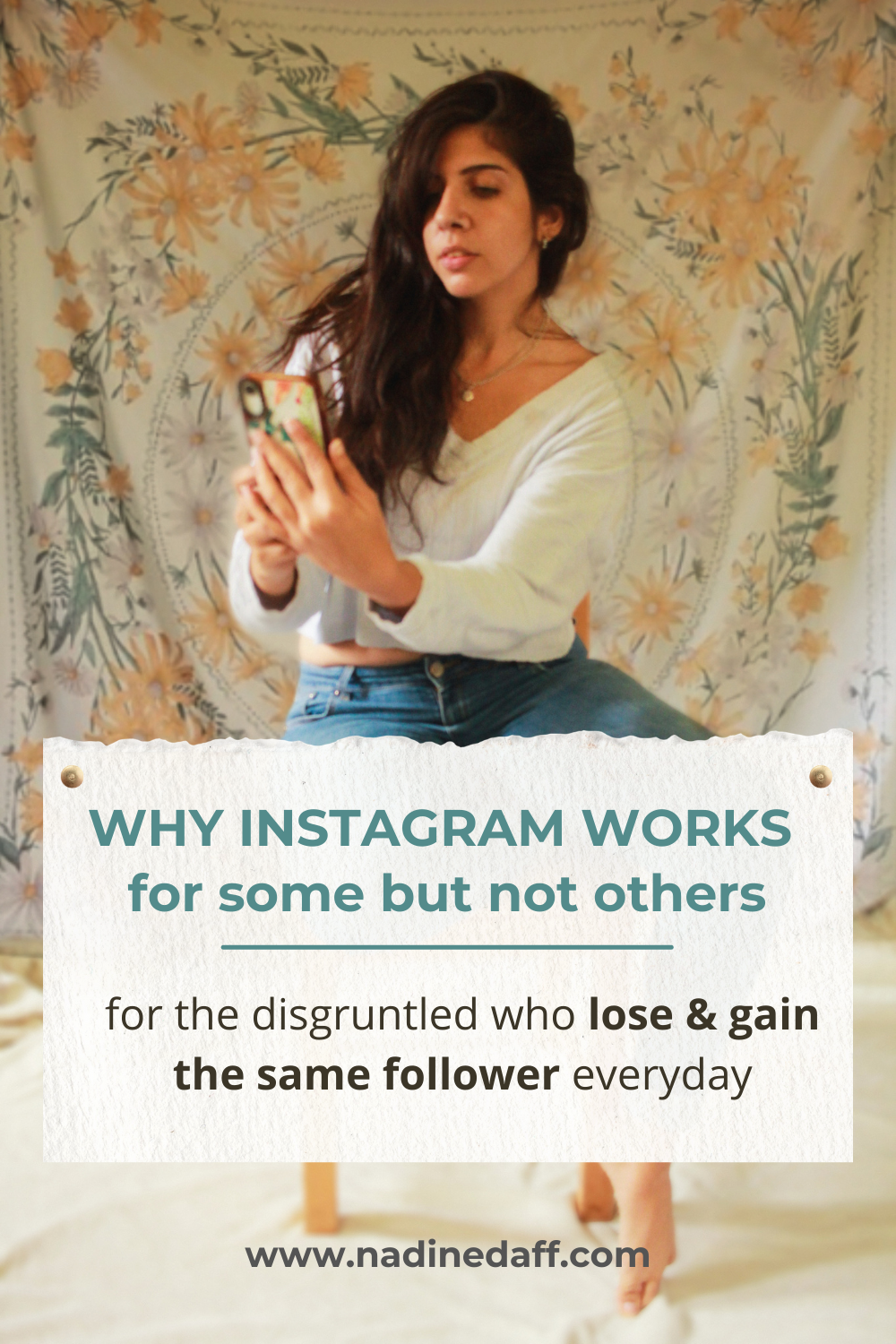 Why is it so hard to grow on instagram?