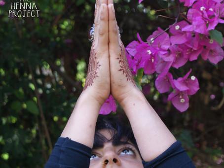When Henna & Yoga Collide