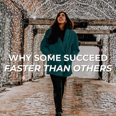 Why Some Succeed Faster than Others