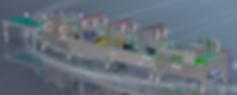 Liqui-tec Offline Skive Hem Machine