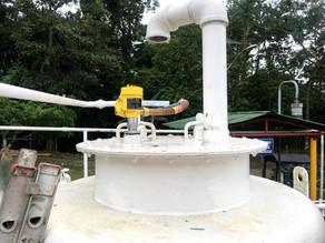 Medición de nivel en tanques de SLOP