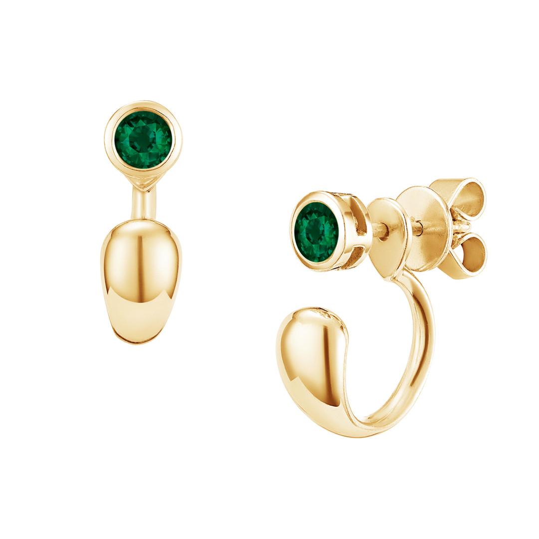 Eclipse Gemstone Earrings