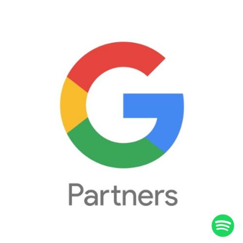 Google Partner no Spotify