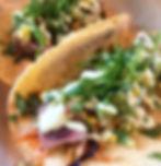 Ahi tuna tacos. Fresh local farm tacos. Tacos in Maine.