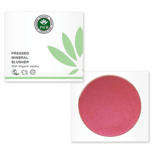 PHB Ethical Pressed Mineral Blusher Spf 15 -Petunia