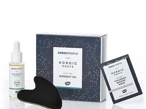 Green People NORDIC ROOTS MIDNIGHT OIL GIFT SET