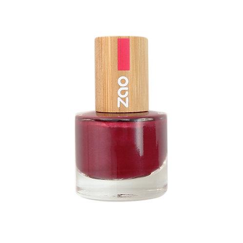Zao '10' Free Nail Polish - Pearly Red (674)