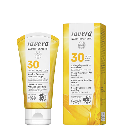 Lavera Anti Ageing Sensitive Sun Cream SPF 30 - 50ml