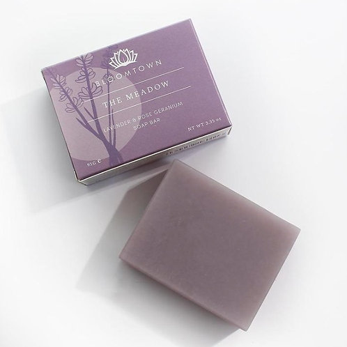 Bloomtown Nourishing Soap Bar: The Meadow (Lavender & Rose Geranium)