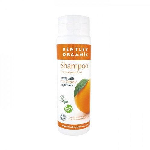 Bentley Organic Travel Size Shampoo - Orange, Grapefruit, Lemon & Chamomile 50ml