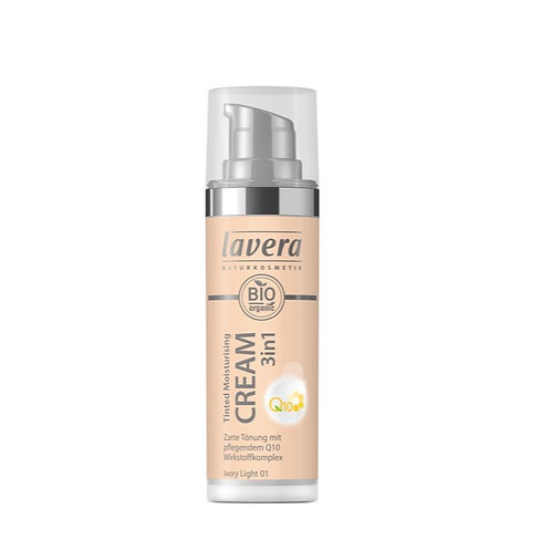 Lavera Tinted Moisturising Cream 3 in 1 Q10 - Ivory Light 01