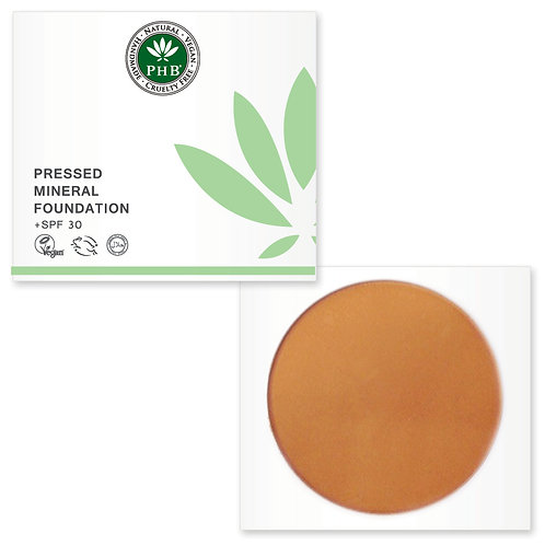 PHB Ethical Pressed Mineral Foundation Spf 30 - Caramel