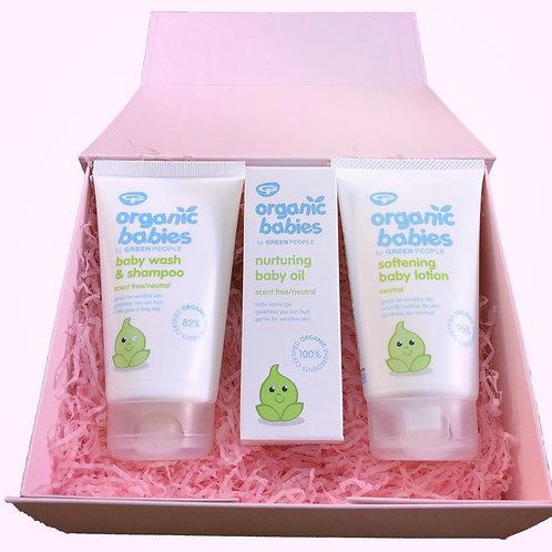 Green People Babies Gift Box