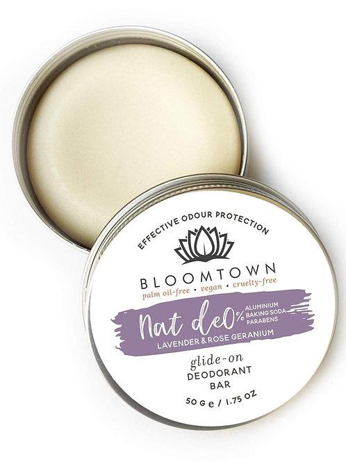 Bloomtown Natural Deodorant - Lavender & Rose Geranium