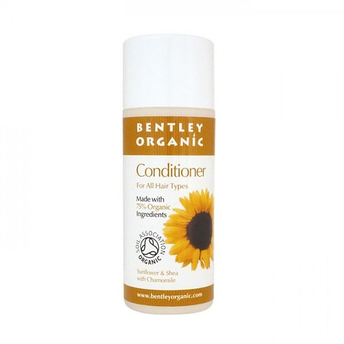 Bentley Organic Travel Size Conditioner - Sunflower, Shea & Chamomile 50ml