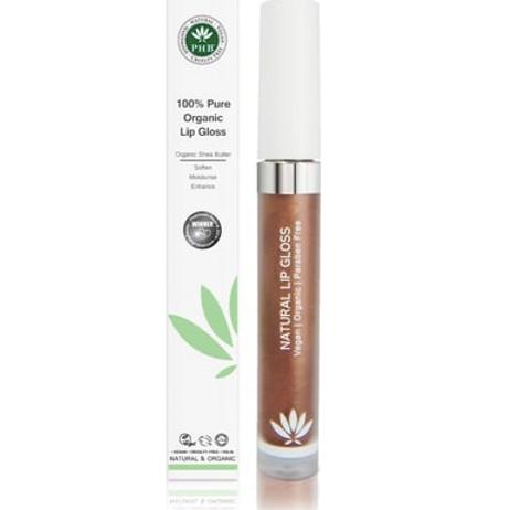 PHB 100% Pure Organic Lip Gloss - Cocoa