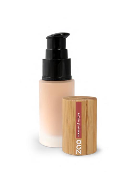 Zao Silk Foundation Refillable Pump Dispenser - Ivory (701)